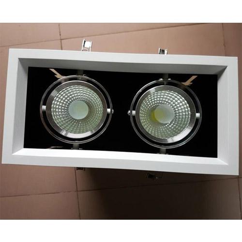 Đèn LED âm trần COB 2x9W