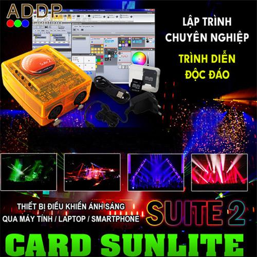 Phần mềm điều khiển ánh sáng sân khấu chuyên nghiệp Sunlite 2