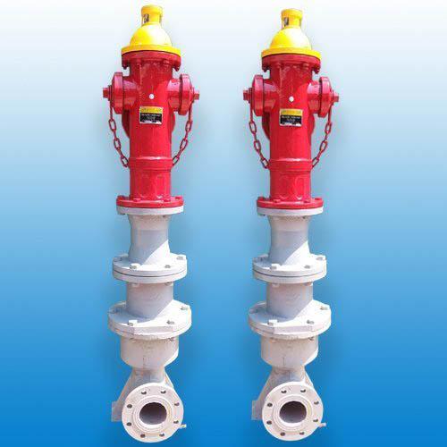 Trụ nước chữa cháy 3 cửa D100 trụ nổi