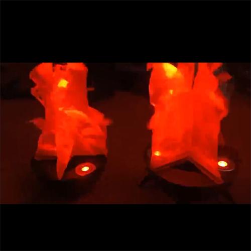 Đèn chảo giả lửa