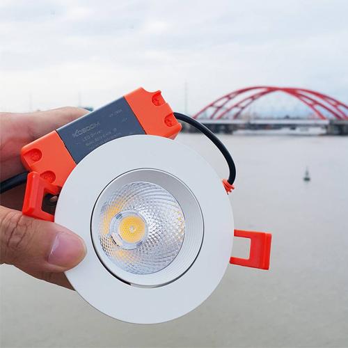 Đèn LED âm trần 12W