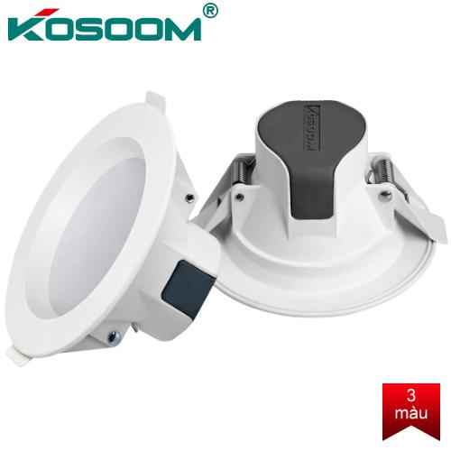 Đèn LED âm trần 3 màu KOSOOM 7W DL-KS-TDST-7-DM