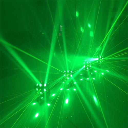 Đèn led đảo 18 mắt laser