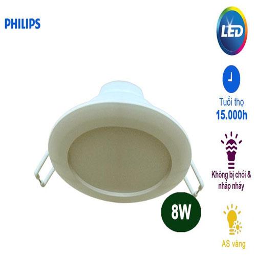 Đèn led âm trần downlight DN020B Philips
