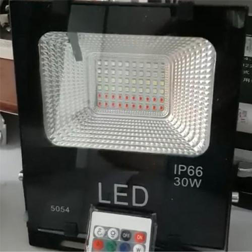 Đèn pha led ánh sáng đổi màu có điều khiển