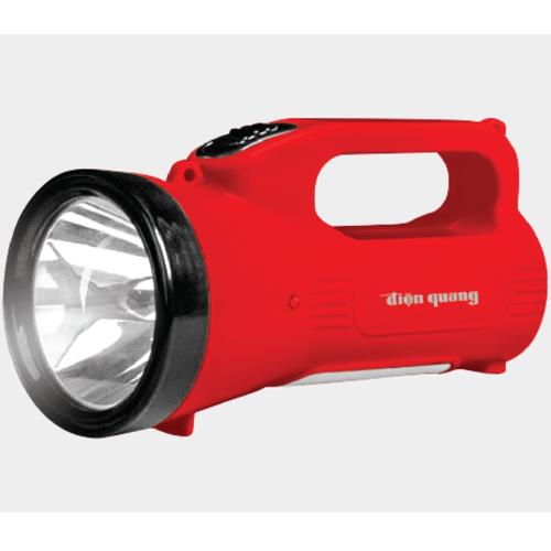 Đèn Pin LED Điện Quang ĐQ PFL07 R (Pin Sạc)