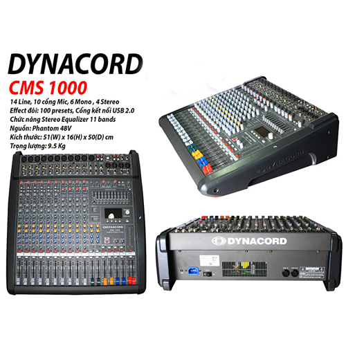 MIXER DYNACORD CMS-1000