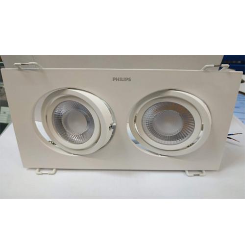 Đèn led chiếu điểm vuông GD100 2x9w Philips