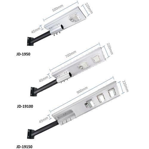 Đèn đường năng lượng mặt trời JD-19100 ( 100w )