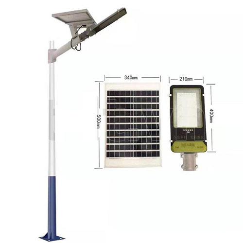 Đèn đường năng lượng mặt trời JinDian 70W JD-399