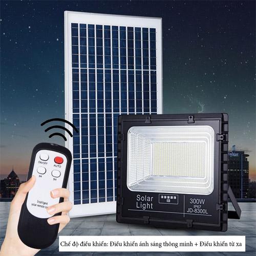 Đèn pha năng lượng mặt trời JD-8300L- 300w
