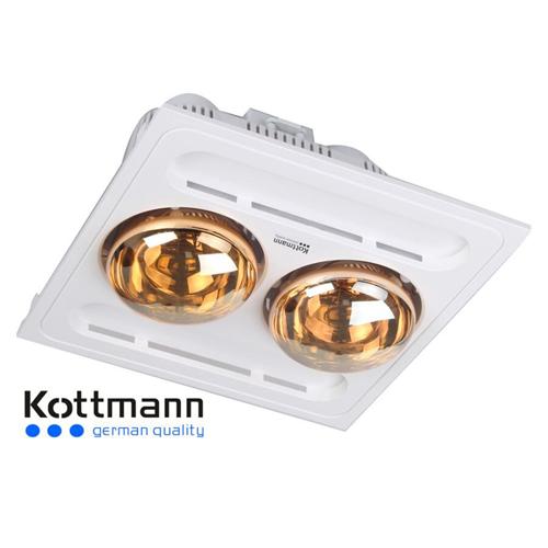 Đèn sưởi 2 bóng âm trần Kottmann – K9S