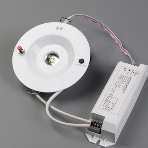 Bộ đèn LED downlight khẩn cấp KEPPER – 032660 (3w, 6000K)