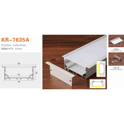 Thanh nhôm KR-6035A
