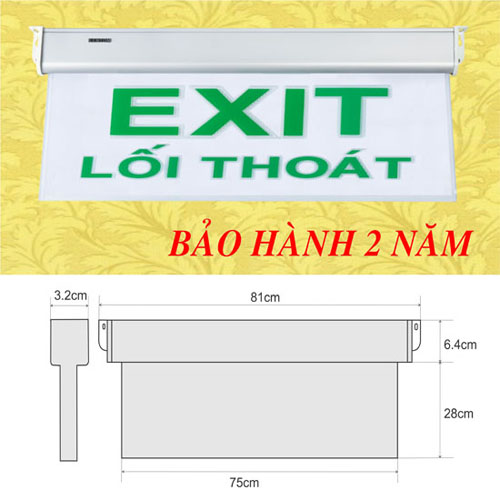 Đèn lối thoát KT700