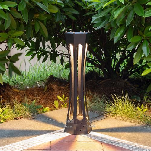 Trụ đèn nấm sân vườn ngoài trời hiện đại TD56