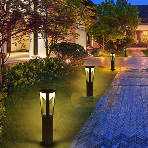 Trụ đèn sân vườn hiện đại LCC71