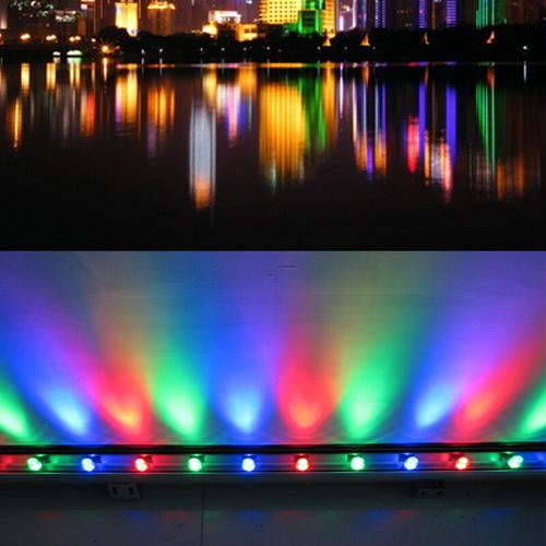LED Thanh Chiếu Hắt Tường 18W - RGB