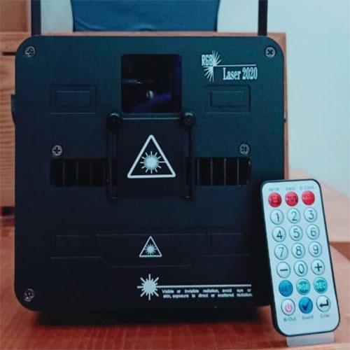 Đèn laser 2.5w new
