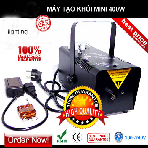 Máy phun khói 400W