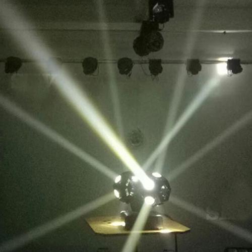 Đèn moving 12 mắt 2 đầu độc lập