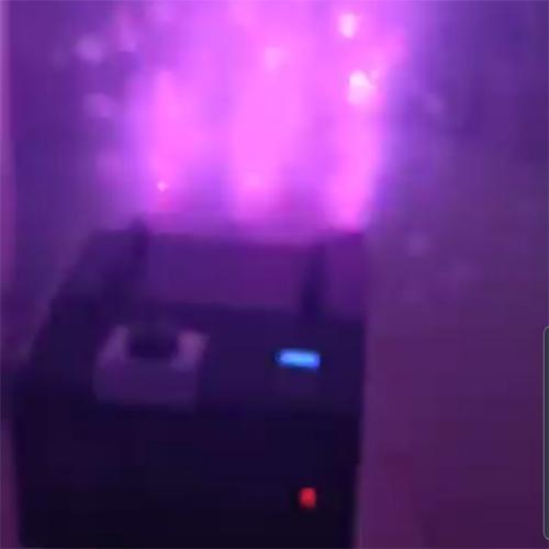 Máy tạo khói + bong bóng + led