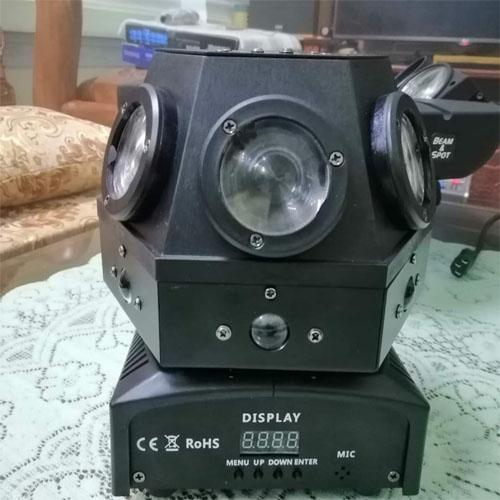 Nấm 6 bóng to + 6 bóng nhỏ + laser