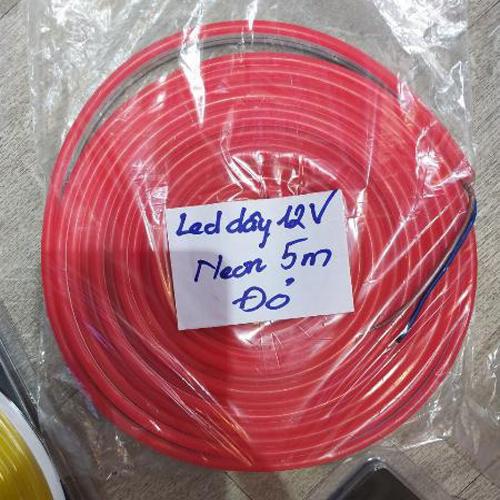 Đèn Led Dây Ống Neon Flex 12V - Các màu