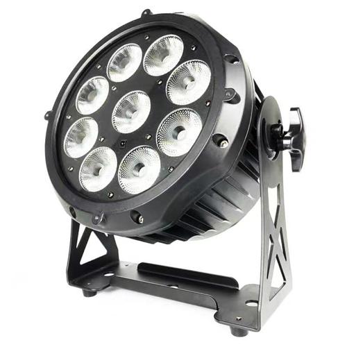 Đèn par led chống nước chạy pin ngoài trời 9 x 15w