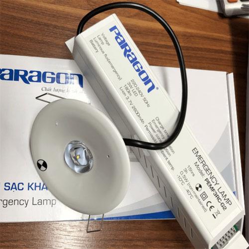 Đèn sạc chiếu sáng khẩn cấp Paragon PEMF3RC-G2 3W lắp âm trần