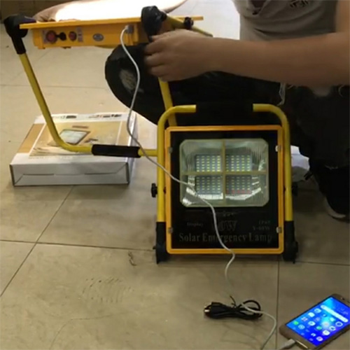 Đèn pha năng lượng mặt trời Y-60