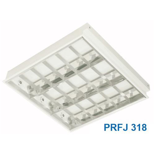 Máng đèn tuýp 0m6 3 bóng PRFJ318 Paragon