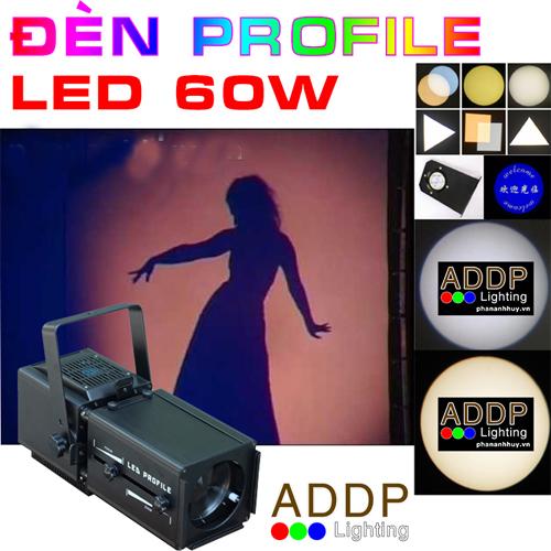 Đèn Profile Mini LED 60W Rọi Ca Sĩ Cho Nhà Hát