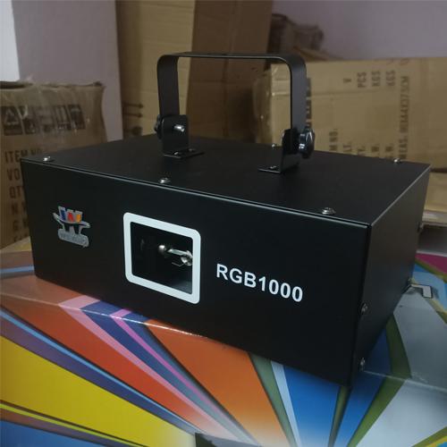 Đèn laser 1 cửa 7 màu 1000 RGB