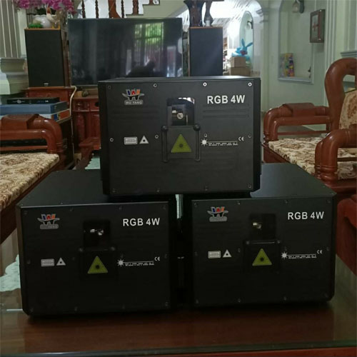 Đèn laser RGB 4w New