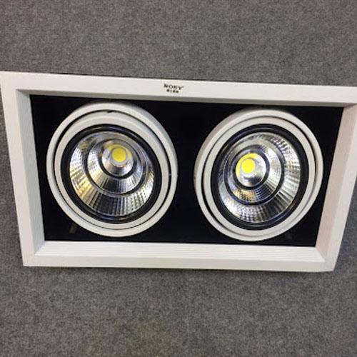 Đèn Downlight rosy RS-LG4032/2*18W