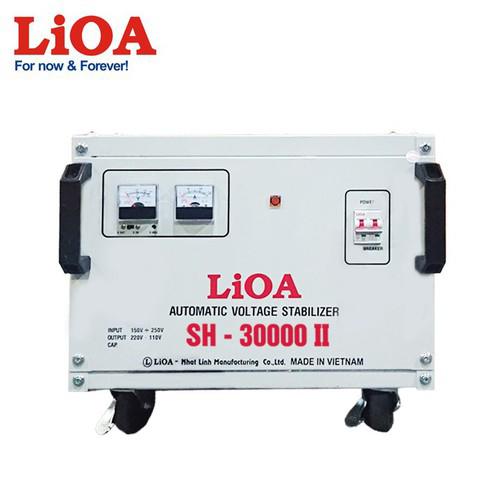 ỔN ÁP 1 PHA LIOA SH-30000II - SH-30000 II