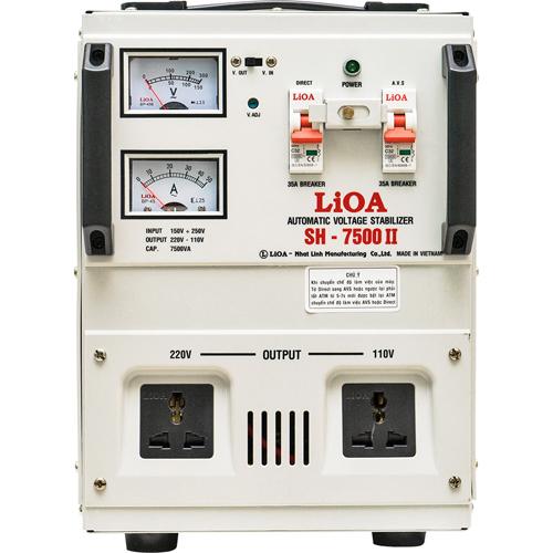 ỔN ÁP LIOA 7.5KVA LIOA SH-7500 II