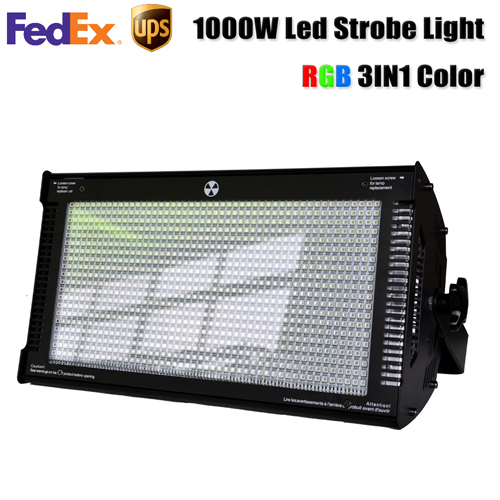 1000w RGB Strobe light