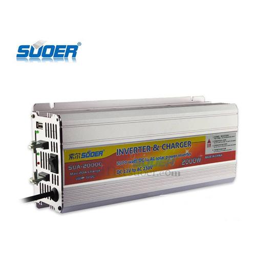 Kích điện ắc quy SUOER 24V 2000W SUA-2000B