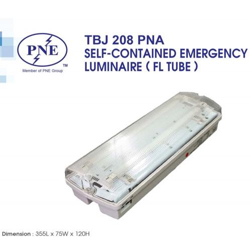 Đèn sự cố bóng huỳnh quang mini 8W PNE TJB 208 PNA