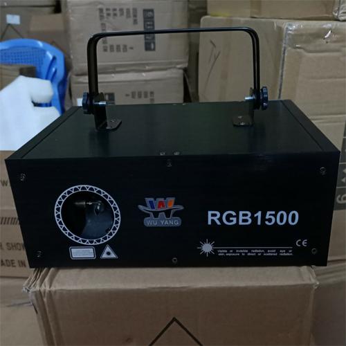 Đèn laser WU YANG RGB 1500
