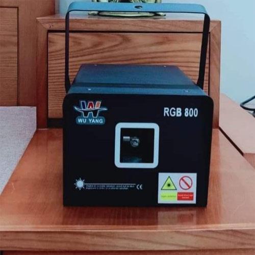 Đèn laser Wu yang RGB 800