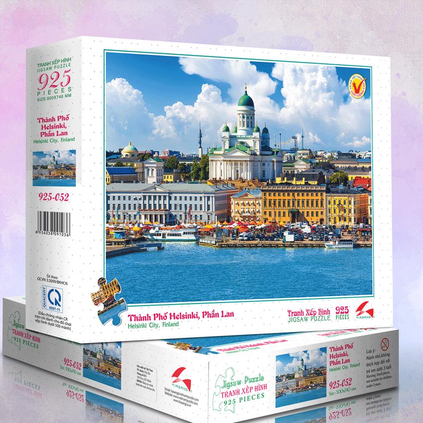 Thành Phố Helsinki, Phần Lan - Tranh xếp hình 925 mảnh – MS: 925-051