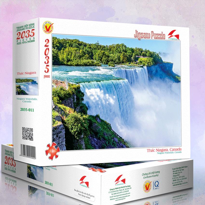 Tranh xếp hình 2035-011 Thác Niagara, Canada