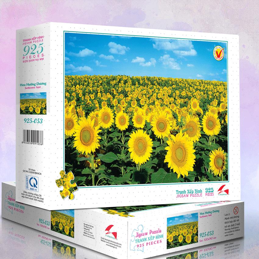 Hoa Hướng Dương - Tranh xếp hình 925 mảnh - MS: 925-052