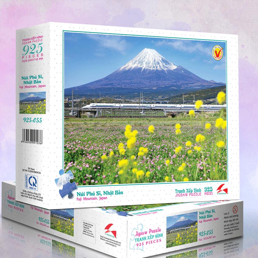 Núi Phú Sĩ - Tranh xếp hình 925 - MS: 925-055