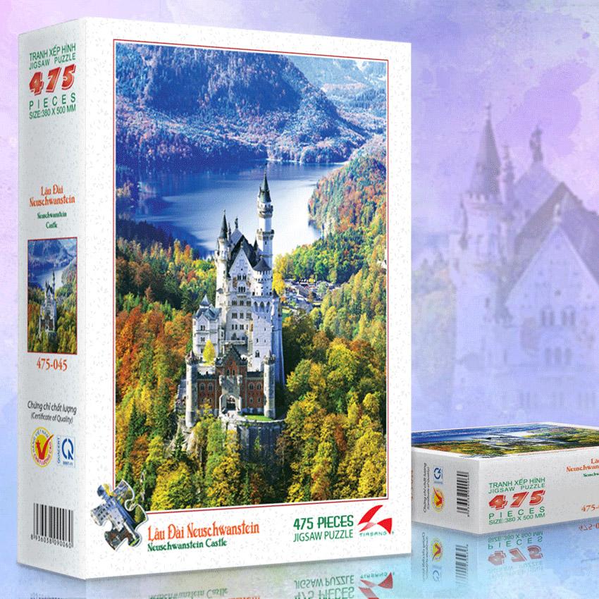Lâu Đài Neuschanstein - Tranh xếp hình 475-045