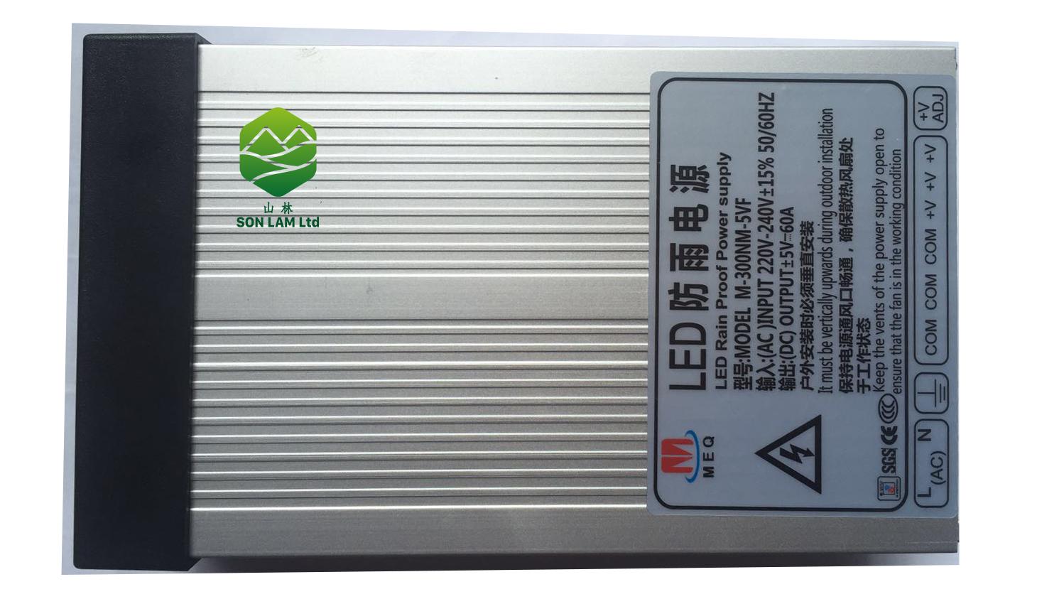 nguồn điện 5v60A MEQ