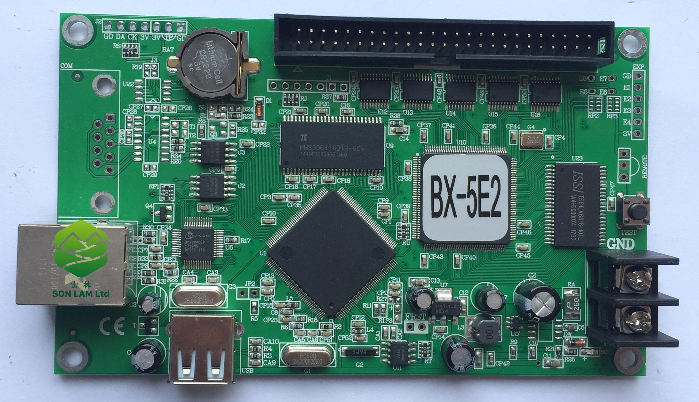 mạch led ma trận BX 5E2